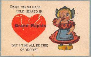Grand Rapids MI Dere Vas So Many Cold Hearts, Dat I Tink All De Time of You, Yet