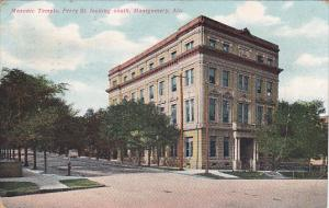 Alabama Montgomery Masonic Temple Perry Street Looking South 1910