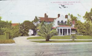 A California Home, Wilshire BLVD., LOS ANGELES, California, PU-1914