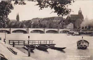 RP; Basel, Mittlere Rheinbruke, Bale, Pont du Mitieu, Switzerland, 00-10s