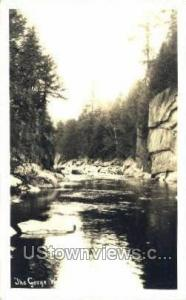 Real Photo - The Gorge West Chesterfield MA Unused