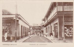 RP: MOZAMBIQUE, 00-10s; Maputo (Lourenço Marques), Travessa da Laranjeira