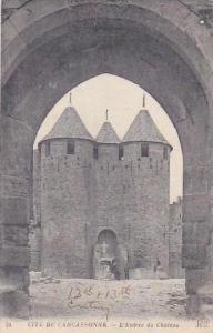 France Carcassonne L'Entree du Chateau