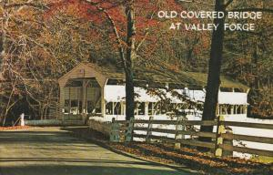 Old Covered Bridge at Valley Forge PA, Pennsylvania