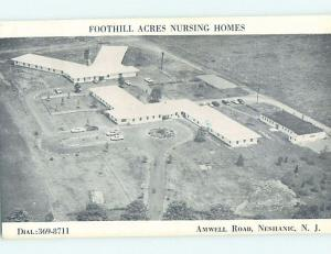 1970's NURSING HOME Neshanic Station- Branchburg - Somerset County NJ G2593