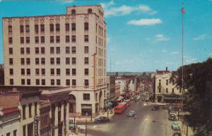 Main Street , Looking North , MANSFIELD , Ohio , 50-60s