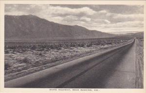 State Highway Near Banning California Albertype