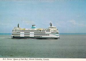Ferry Boat  Queen of Oak Bay  , B.C. , Canada ,  60-70s