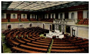 1910's Hall Of The House Of Representatives Washington DC PC2026
