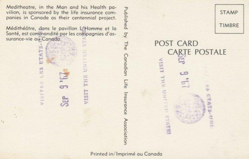 MONTREAL , Quebec, Canada, EXPO67 ; Meditheatre
