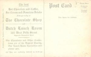 Los Angeles~Chocolate Shop~Ice Cream & Fountain Drinks~Japanese Lanterns? 1909