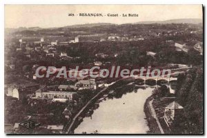 Postcard Besancon Old Canoe Butte
