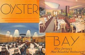 Jersey City New Jersey Oyster Bay Multiview Antique Postcard K69006