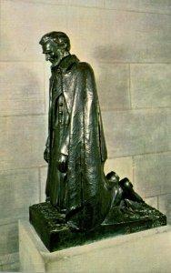 Washington D C Mount Saint Alban Washington Cathedral Lincoln At Prayer