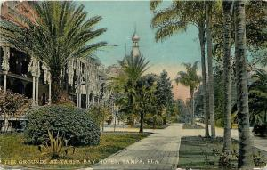Tampa Florida~The Grounds At Tampa Bay Hotel~Double Minaret 1912