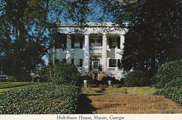 Holt Snow House Macon Georgia
