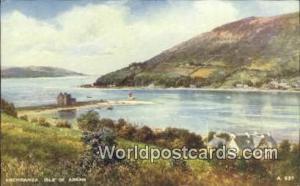 Scotland, Escocia Isle of Arran Lochranza Isle of Arran Lochranza