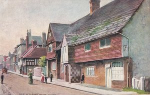 LEWES, England, 1900-1910s; Anne Of Cleves' House, TUCK No. 7241
