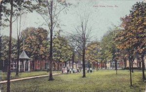 Pennsylvania Corry Park View 1910