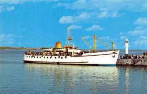 Vintage Postcard CORNWALL The Scillonian Boat, Penzance by NPO #B7095