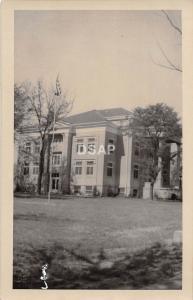 A29/ Sharon Springs Kansas Ks Real Photo RPPC Postcard Court House Building