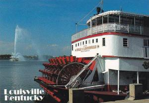 Sternwheeler Belle Of Louisville On Ohio River