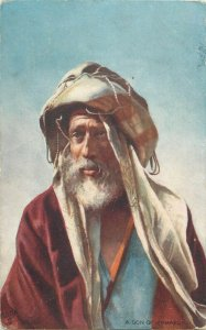 A son of Ishmael Egypt ethnic type postcard