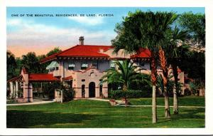 Florida Deland One Of The Beautiful Residences 1940