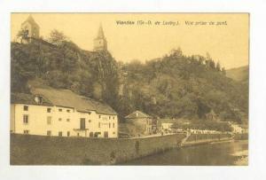 Grand-Duche de Luxembourg,  VIANDEN. Vue prise du pont, 00-10s