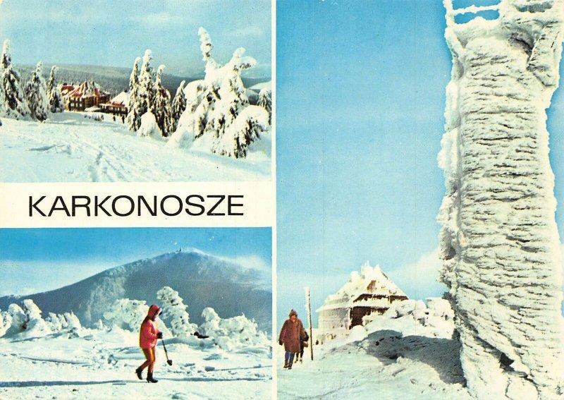 Poland Mountain Karkonosze Schronisko PTTK na Hali Szrenickiej Postcard