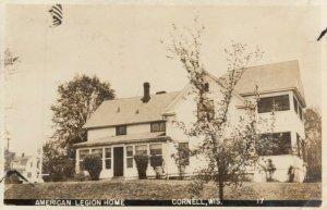 RP: CORNELL , Wisconsin, 1947 ; American Legion Home