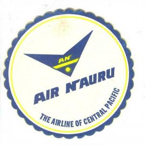 Air Nauru coaster, The Airline of Central Pacific, 40-60s