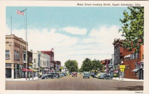Ohio Sandusky Main Street Looking North Curteich sk5190