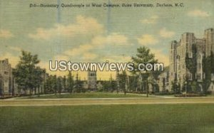 Dorm, Duke University in Durham, North Carolina