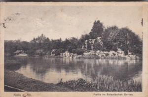 Germany Koeln Partie im Botanischen Garten 1928