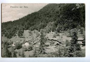 133151 Switzerland BEX Freniere Vintage postcard