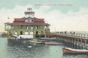 OTTAWA, Ontario, Canada, 1900-10s ; Britannia Canoe Club