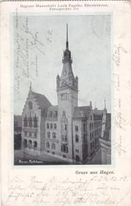 Gruss aus HAGEN , Germany , PU-1903 ; Neues Rathaus