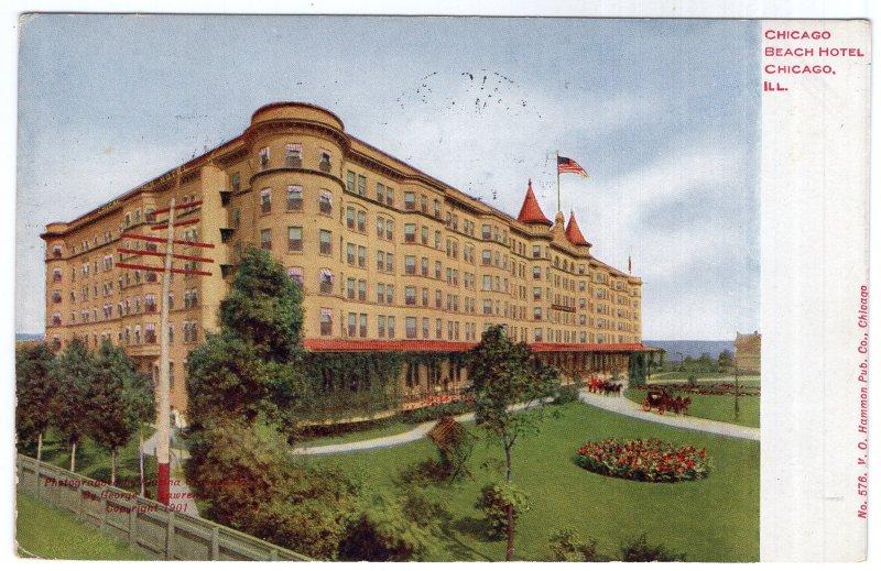 Chicago, ILL, Chicago Beach Hotel