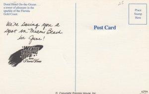 Gold Coast , Florida , 50-60s ; Doral Hotel On-the-Ocean