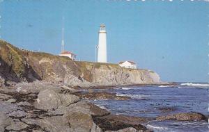 Le Phare (Lighthouse) de Cap Desrosiers Gaspesie Nord , Quebec , Canada , PU-...