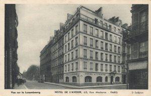 Hotel De L'Avenir Paris Old Postcard