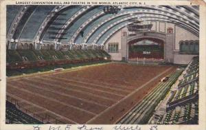 New Jersey Atlantic City Largest Convention Hall And Theatre In The World 1932