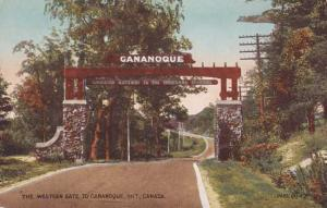 The Western Gate Gananoque Ontario Canada Canadian 1000 Islands Gateway pm 1914