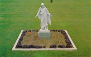 Canada The Christus Statue Forest Lawn Memorial Park Vancouver British Columbia