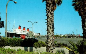 California Long Beach Queen Mary and Mary's Gate Village