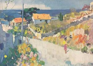 Coastline at Sete , France , 30-40s
