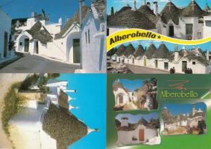 Houses In Alberobello 4x Italy Postcard s