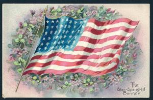 The Star Spangled Banner used c1910's