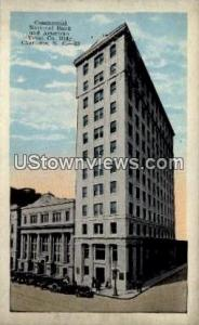 Commercial National Bank Charlotte NC Unused